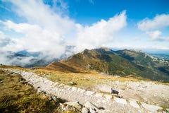 Prachtige mening van de bergen Royalty-vrije Stock Foto
