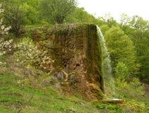 Prachtige mening van de unieke waterval Prskalo stock foto's