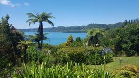 Prachtige meningen van het meer Tarawera, Rotorua, Nieuw Zeeland Royalty-vrije Stock Afbeelding