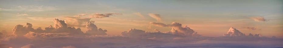 Zonsopgang vanaf de bovenkant van Agung Stock Foto's