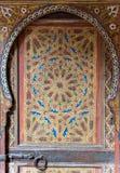 Prachtige oude Moorse deur Royalty-vrije Stock Afbeelding
