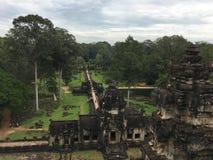 Prachtige tempels van Angkor, Kambodja, Zuidoost-Azië royalty-vrije stock afbeelding