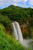 Prachtige Wailua-Dalingen van Kauai Royalty-vrije Stock Afbeelding