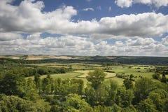 Prachtvolle englische Landschaft Stockbilder