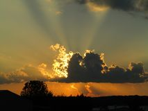 Prachtvolles Licht lizenzfreie stockfotos