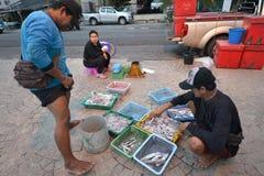 Prachuap Khiri Khan,泰国 图库摄影
