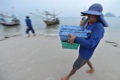 Prachuap Khiri Khan,泰国 免版税图库摄影