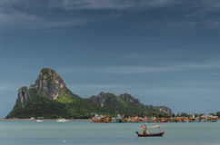 Prachuap khiri khan bay Thailand Royalty Free Stock Image