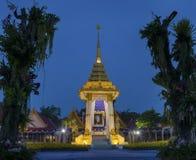 PRACHUAP KHIRI KHAN TAILÂNDIA - OUTUBRO 27,2017: Rei Bhumibol Adul fotografia de stock royalty free
