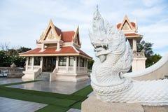 Prachuap Khiri Khan Tajlandia, Kwiecień, -, 18, 2017: Statua Biały N Fotografia Stock