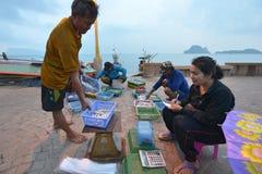 Prachuap Khiri Khan, Thaïlande Photographie stock libre de droits