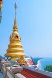 PRACHUAP KHIRI KHAN, THAÏLANDE - 26 avril 2016 : petite pagoda dessus Images stock