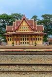 Prachuap Khiri Khan, Thaïlande - 16 mars 2017 : P royal coloré Photographie stock libre de droits