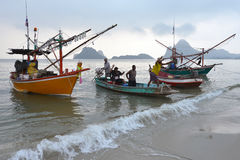 Prachuap Khiri Khan, Thailand Stock Afbeeldingen