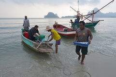 Prachuap Khiri Khan, Thailand Stock Afbeelding