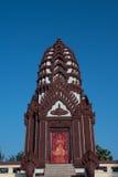 Prachuap- Khiri Khanlak Mueang, sind Stadtsäule von Prachuap- Khiri Khanprovinz Stockbild