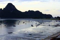 Prachuap kriri可汗省在泰国 库存照片