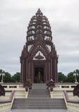 Prachuapkhirikhan lipiec 27,2016: filar świątynia prachuapkhirikhan prowincja, Thailand, najwięcej pięknej filar świątyni Obraz Royalty Free