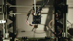 Pracować 3D drukarka 4K zdjęcie wideo