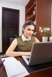 Pracować w biurze Fotografia Royalty Free