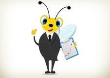 Pracowita pszczoła Ilustracja Wektor