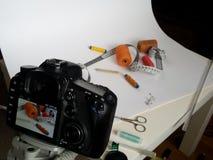Pracowniana produkt fotografia Zdjęcie Stock