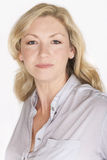 Pracownianego portreta Atrakcyjna W Średnim Wieku kobieta Obraz Royalty Free