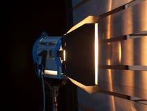 Pracowniany światła reflektorów lub sceny światło Obrazy Stock