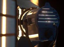 Pracowniany światła reflektorów lub sceny światło Zdjęcie Royalty Free