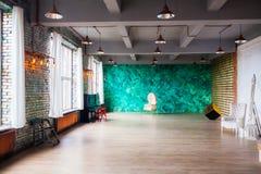 Pracowniany loft Obrazy Royalty Free