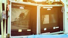 Pracowniany strzelanina set, Telewizyjny studio Zdjęcie Stock