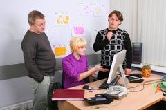 pracownicy biurowi Zdjęcie Stock