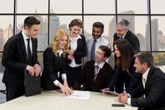 Pracownicy biznesowa firma obraz stock