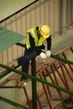 pracownicy budowlani Fotografia Royalty Free