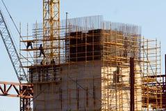 pracownicy budowlani Zdjęcia Royalty Free