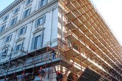 Pracownicy budowlani Obrazy Stock