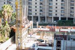 Pracownicy budowlani Zdjęcia Stock