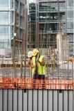pracownicy budowlani Zdjęcie Stock