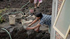 Pracownicy budowlani zdjęcie wideo