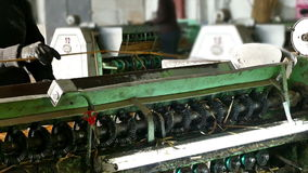 Pracownicy i produkcj maszyny zdjęcie wideo