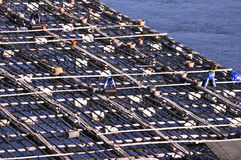 Pracownicy morze zdjęcie stock