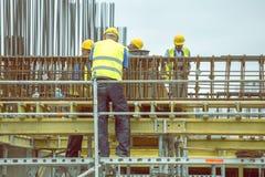 Pracownicy podczas wzmacnienie pracy 4 Fotografia Royalty Free