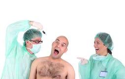 pracownicy służby zdrowia Zdjęcie Stock