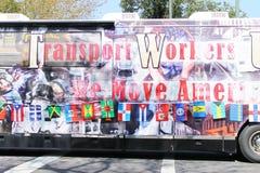 Pracownicy Transportowi Autobusowi Zdjęcie Stock