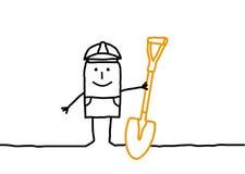 pracownik ilustracji