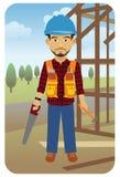 pracownik budowlany Obrazy Stock