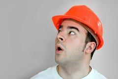 pracownik budowlany Obraz Stock