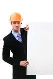 pracownik budowlany yuong Zdjęcie Stock