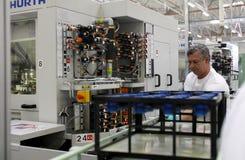 Pracownik fabryczny Fotografia Stock