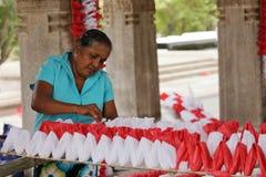 Pracownik i handwork w Sri Lanka Zdjęcia Royalty Free